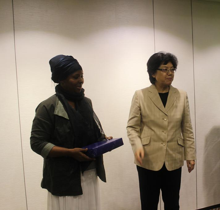 China and Somali Health Ministr
